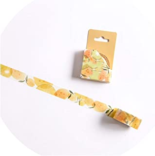 15/30mm Zoo Fruit Paper Decorative Masking Tapeese Stationery Crafts and Scrapbooking Cute Tape,B