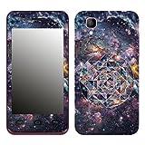 Disagu SF-106204_1153 Design Folie für Wiko Sunset, Motiv Space Geometric