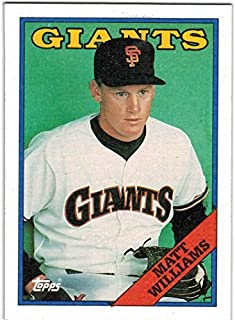 1988 Topps with Traded San Francisco Giants Team Set with Will Clark & Matt Williams RC - 29 MLB Cards