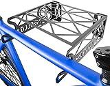 MEOLLO Soporte Colgador para Bicicleta (100% Acero) - Fabricado en España (2 X Negro)