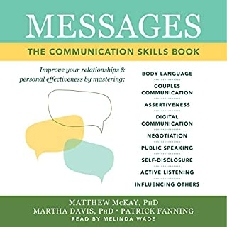 Messages audiobook cover art