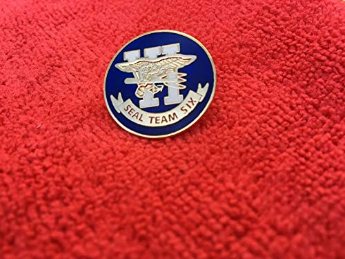 Button of US Navy Seal Team SIX HAT/Lapel PIN
