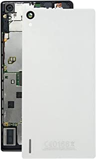 Jiangym Mobile Phone Back Cover for Huawei Ascend P7 Battery Back Cover(Black) Back Cover (Color : White)