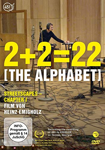 2+2=22 [The Alphabet]: Streetscapes - Chapter I [Alemania] [DVD]