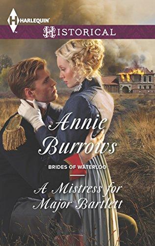 A Mistress for Major Bartlett (Brides of Waterloo)