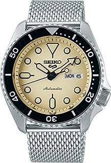 Seiko SRPD67K1 Reloj Seiko 5 Automatico Caballero Resistente al Agua 100 metros for Hombre, Gris, Hombre Estándar