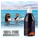 Volcanic Mud Body Shower Gel Long Lasting Moistuising Shower Gel, Body Wash Whitening