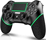 PUNWEOS Wireless Controller for PS4, Dual Vibration Wireless Gamepad Controller Game Joystick for PS4/ Pro/Slim with 6-axis Gyro Sensor,Motion Motors, Touch Panel Joypad,Audio Function