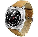 Jepssen Pan Watch Feel Silver+Leather, Cuoio