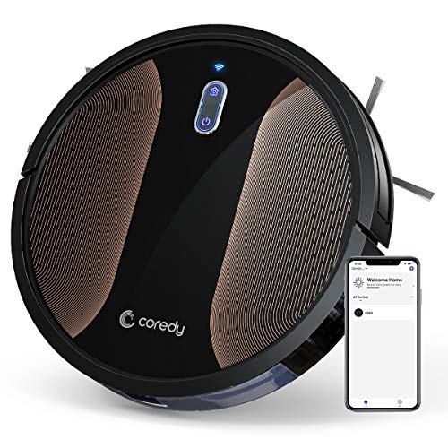 Coredy R580 Robot Vacuum Cleaner, 3-in-1 Vacuuming...