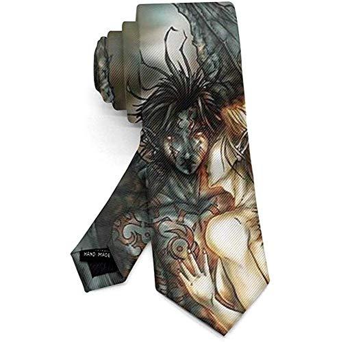 Nieuwigheid Halloween Halsband Halloween met schommels Tie voor Bruiloft Feest Werk Cadeau