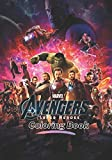 Marvel The Avengers Super Heroes Coloring Book: A Flawless Coloring Book For Kids With Unique Images Of Avengers To Kick Back And Have Fun (high resolution pictures)
