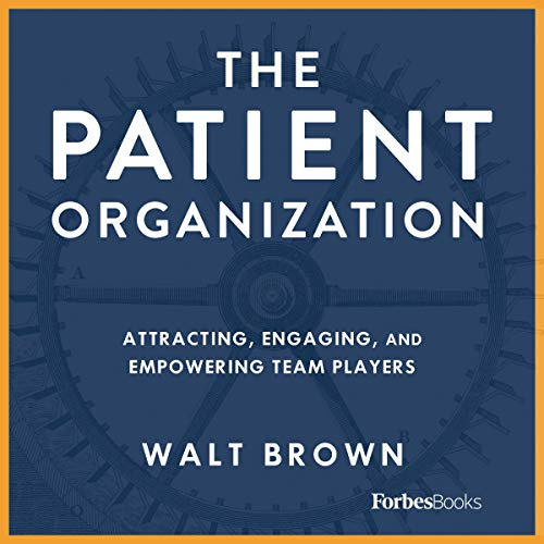 The Patient Organization audiobook cover art