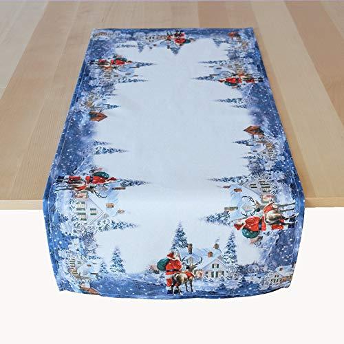 Kamaca Tischläufer 40x90 cm Weihnachtszeit hochwertiges Druck-Motiv EIN Schmuckstück in Winter Weihnachten (Läufer 40x90 cm)