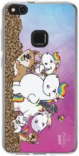 Pummel & Friends - Handyhülle kompatibel mit Huawei P10 Lite - Pummeleinhorn & Friends