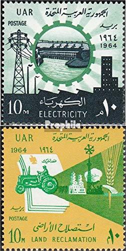 égypte 746-747 (complète.Edition.) 1964 Revolution (Timbres pour Les collectionneurs) Circulation routière