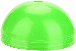 Alomejor Training Disc Cone, 5pcs Plastic Lightweight Marker Holder Multi-Sport Training Marker Cones Safety Barriers for Football Soccer