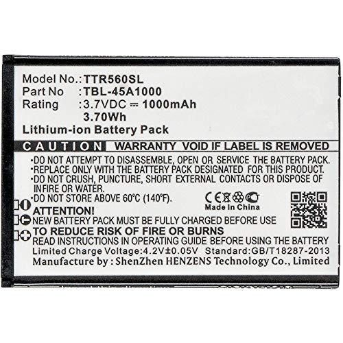 subtel® Qualitäts Akku kompatibel mit TP-Link TL-5600, TBL-45A1000 1000mAh Ersatzakku Batterie