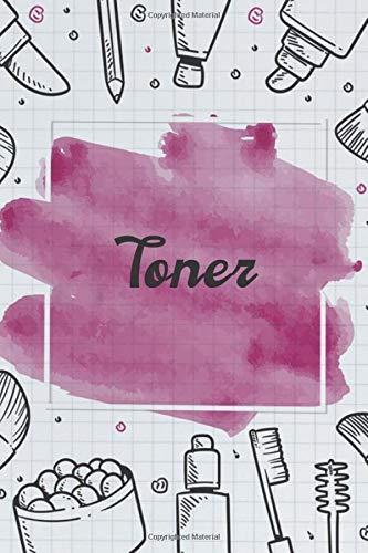 Toner NoteBook Gift Idea: Lined makeup NoteBook Gift / Make-up Artist Notebook Gift, 120 Pages, 6x9, Soft Cover, Matte Finish