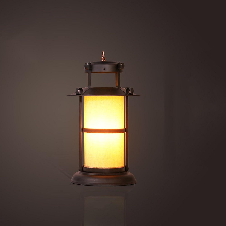 MLMH American Country Retro industrielle Art kreative Kunst Bar Eisen Eisen Eisen Tischlampe Tischlampe (größe   B-22  35cm) B07H25LC9Z     | Mittel Preis  0b9e24