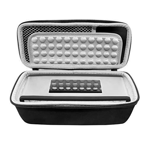 SANON Lautsprecher Hardcase Aufbewahrungskoffer Tasche Hard Travel Case Soft wasserdichte Schutzhülle für Bose-Soundlink Mini I II 2 BT Lautsprecher