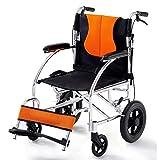 SUN RNPP Accessoires pour fauteuils roulants et scooters électriques Fauteuil Roulant Le de Transport léger Permet de Replier Facilement Les Pieds réglables
