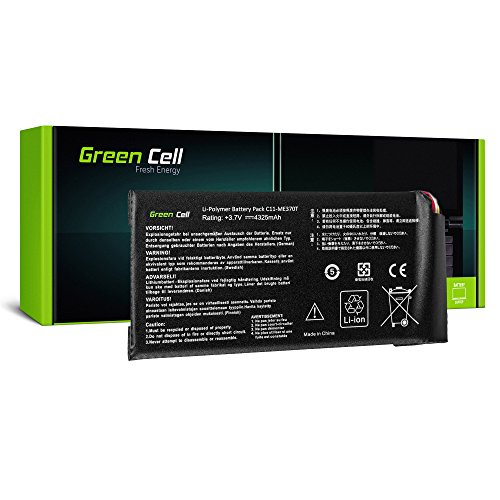Green Cell C11-ME370T Tablet Akku für ASUS Google Nexus 7 (4325mAh 3.7V Li-Polymer Schwarz)