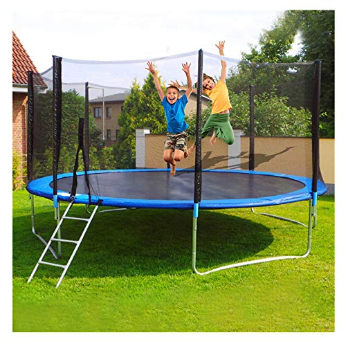 WAFamily 12 ft Trampoline Round Jumping Table with Safety...