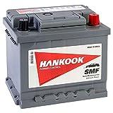 Hankook 44Ah Batterie de Voiture 12V 420CCA - 2 Ans de Garantie