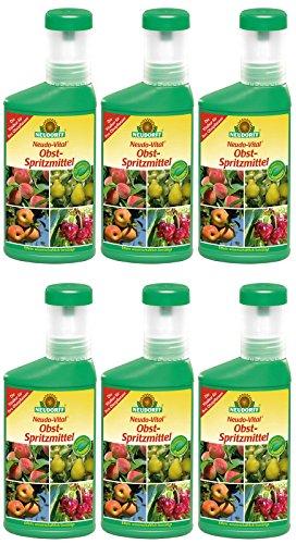 Neudorff Neudo-Vital Lot de 6 engrais en spray pour arbres fruitiers 6 x 250 ml