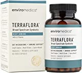 Enviromedica Terraflora Deep Immune SBO Probiotic + Prebiotic Supplement - a Soil Based Shelf Stable Bacillus Spore Form Synbiotic with LC-Plasma – a Powerful Immune Booster (60ct)
