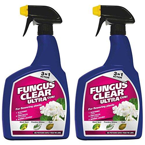 ( x2 ) Fungus Clear 010004 Ultra Gun 1L