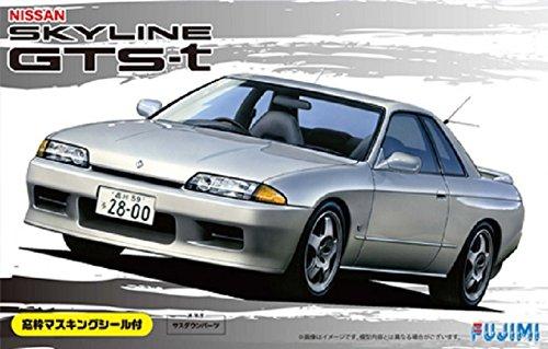 フジミ模型 1/24 インチアップシリーズ No.101 ニッサン R32 スカイライン GTS-t 窓枠マスキングテープ付 プラモデル ID101