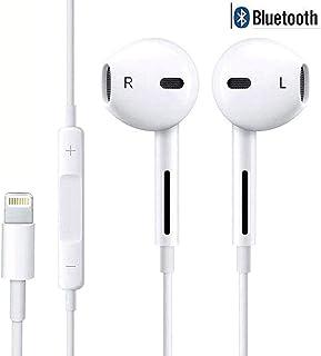 358ab12f46e Amzuun Auriculares in-Ear con micrófono, Auriculares estéreo con  Aislamiento de Ruido para iPhone