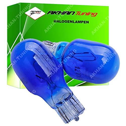 Akhan 58307 - Xenon Look Halogenlampe 12V W16W - 16W - W2,1x9,5d