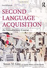 Second Language Acquisition set: Second Language Acquisition: An Introductory Course (Volume 1)