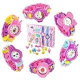 DIY-Watch-A A ALPS DIY Juguetes para Niñas, Reloj Niña, Relojes para Niñas de 3, 4, 5 y 6 años, Juguetes Educativos Niños - Regalo Creativo