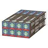 Starbucks Decaf Espresso Roast by Nespresso Dark Roast Coffee Pods (Pack of 8, Total 80 Capsules)