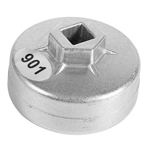 Ölfilter-Kappenschlüssel, 65 mm 14-Rillen-Aluminium-Ringschlüssel-Werkzeug zum Entfernen des Steckschlüssels für To-Yota A8 Hon-da