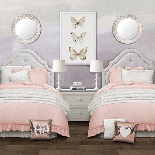3pc Full/Queen Reyna Comforter Set Blush - Lush Décor