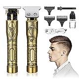Cortapelos Hombre Profesional-Recortadora de Barba Profesional para Hombres-Maquina de Afeitar Eléctrica, Maquina Cortar Pelo Inalámbrica USB Recargable, 3 Peines Limitados Profesionales
