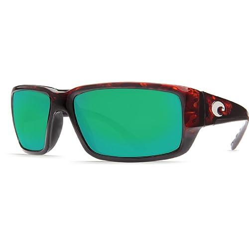 1f68c2bbe56c New Costa Del Mar Fantail 580G Tortoise/Green Mirror Polarized Lens 60mm  Sunglasse