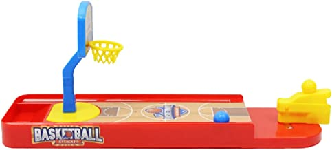 MagiDeal Mini Plastic Desktop Basketball Board Game Set Family Fun Game Kids Toy Gift