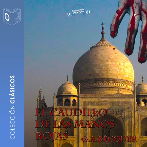 El caudillo de las manos rojas [The Leader of the Red Hand] audiobook cover art