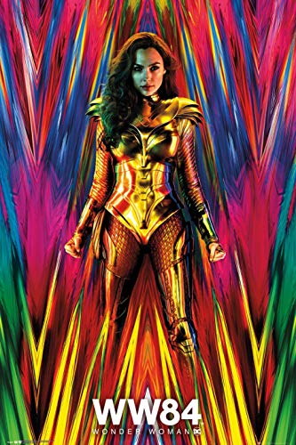 Wonder Woman 1984 - Movie Poster (Teaser - Disco Style) (Size: 24 x 36 inches)