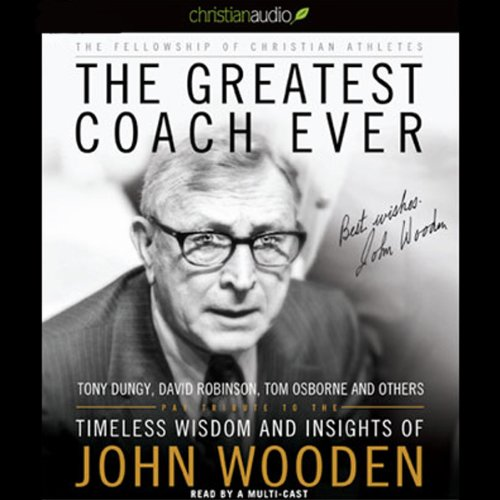 The Greatest Coach Ever audiobook cover art