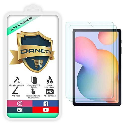 "Película De Vidro Temperado Para Tablet Samsung Galaxy Tab S6 Lite P610 e P615 Tela de 10.4"" - Proteção Blindada Anti Impacto Top Premium - Danet"
