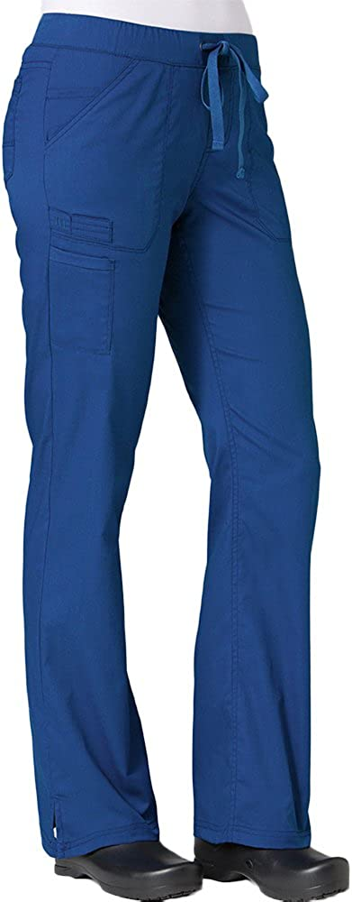 Maevn Women's PrimaFlex Inner Beauty Leg Straight Royal Pant All items in the store Blu OFFicial site