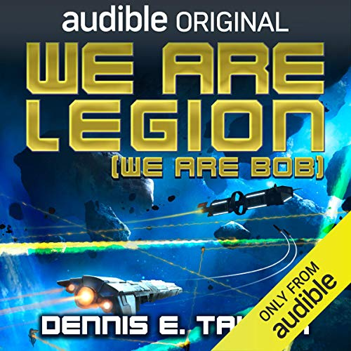 We Are Legion (We Are Bob) audiobook cover art