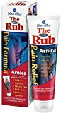 NatraBio The Arnica Rub   8% Arnica   Homeopathic Pain Formula for Relief from Stiffness, Injuries, Muscle Pain, Back Pain, Bruises & Sprains   4 oz   3 pk